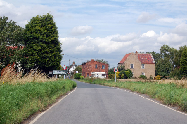 Entering Adlingfleet
