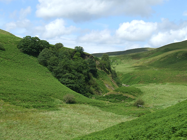 Towards Glog Fach, Ceredigion