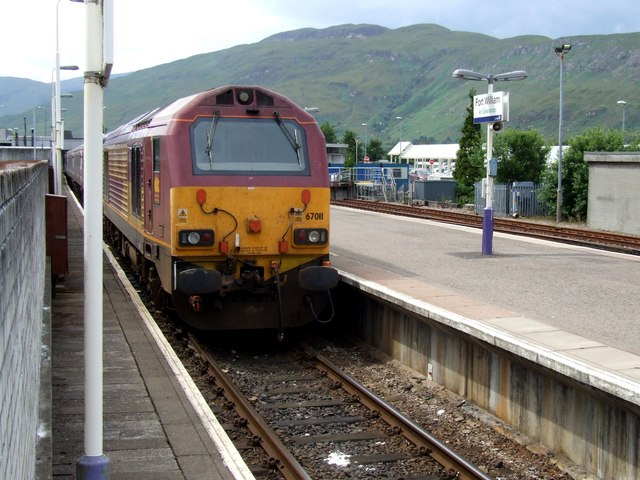 Railway Station, Fort William