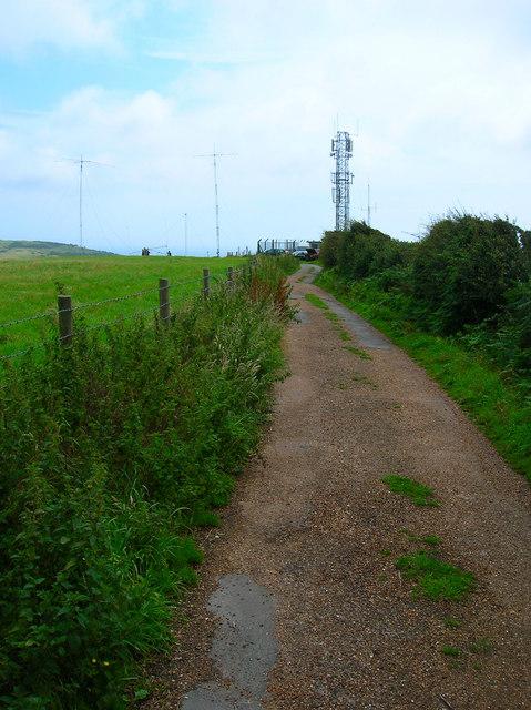Radio Mast, Stenbury Down