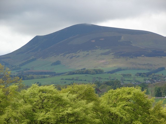 Tinto Hill as viewed from East Mains, near Coulter