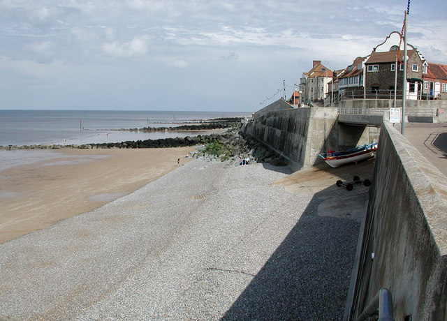 Sheringham Seafront and sea defence