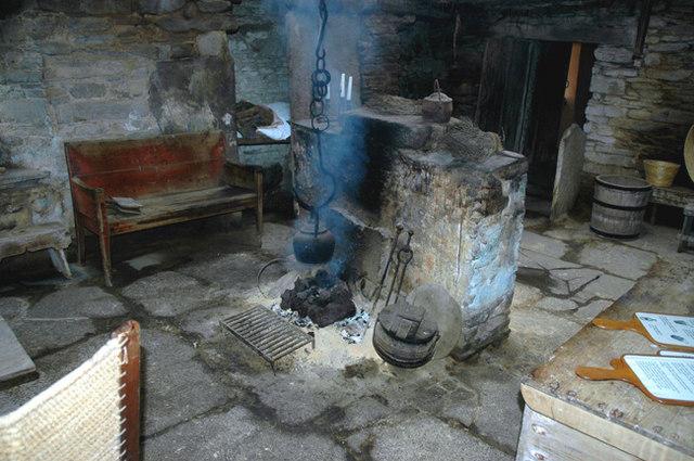 Inside Kirbuster Farm Museum