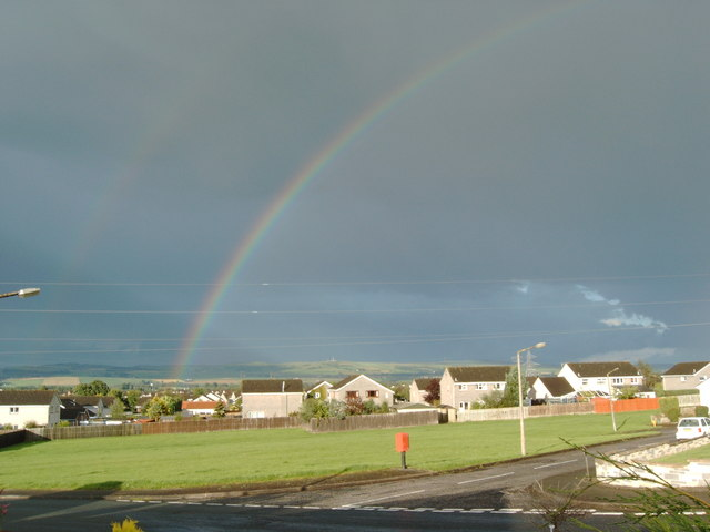 Rainbow over Dumfries