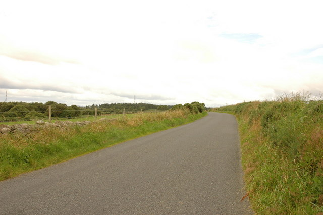 Minor road from Potterton to the B977
