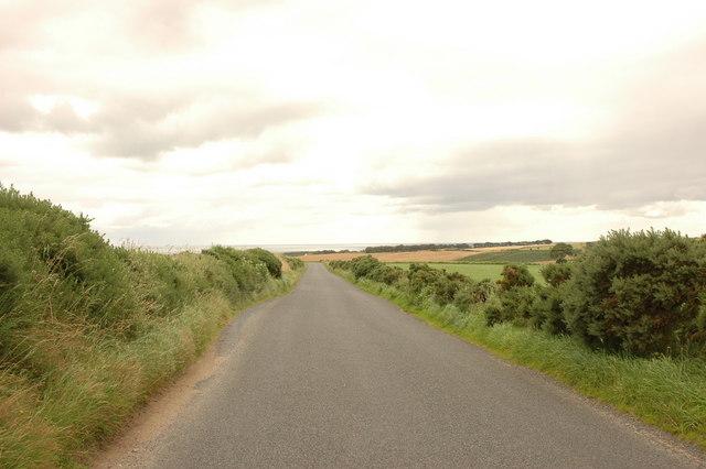 Country road near Potterton