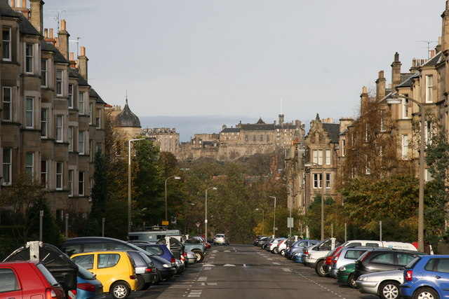 Spottiswoode Street, and the Castle