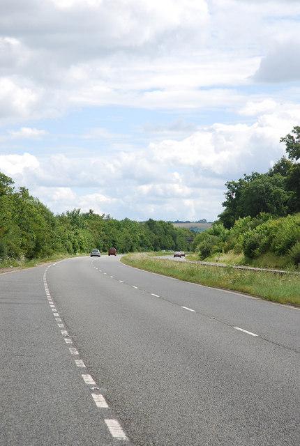A36 heading towards Southampton
