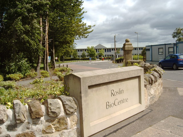 Entrance to the Roslin BioCentre