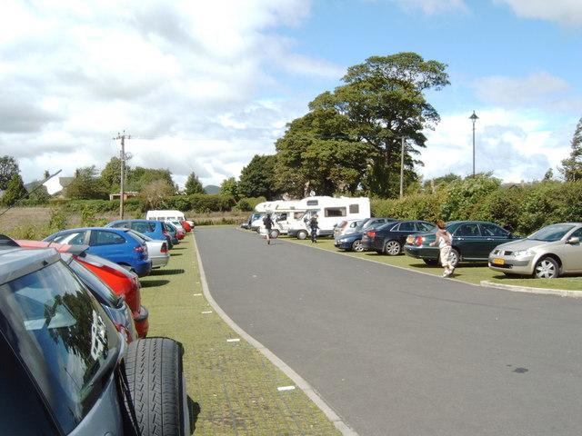 Roslin Chapel car park