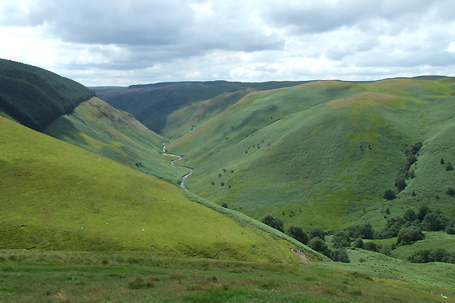 The Valley of the Afon Doethie, Ceredigion