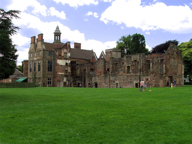 Rear view of Rufford Abbey