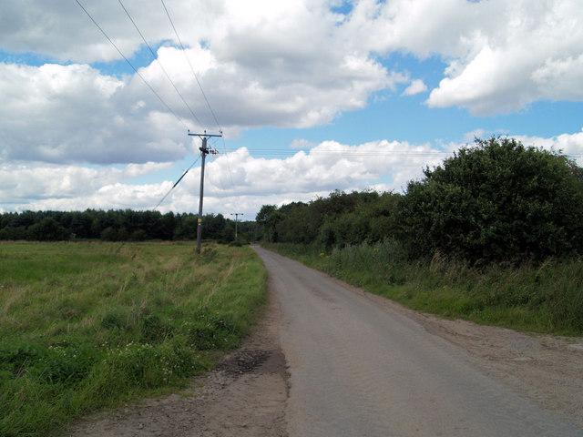 Martin Lane, near Bawtry.