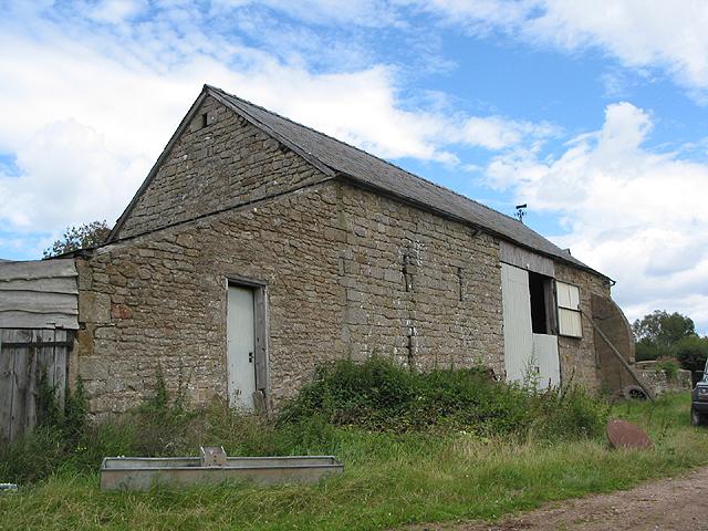 The barn at Lawns Farm, Penyard Hill
