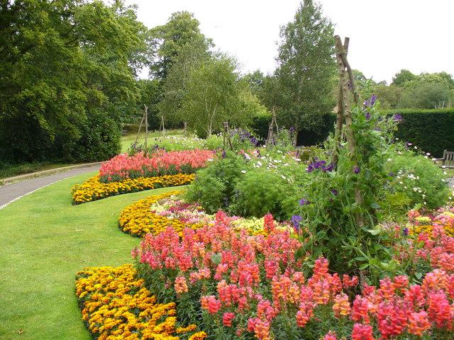 Flower Beds by Pembroke Lodge