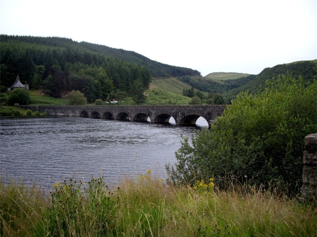 Caban Coch Reservoir