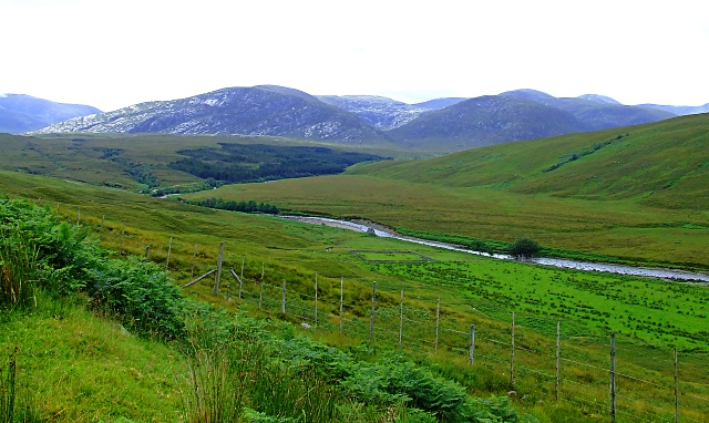 The Countryside and the Strathmore River