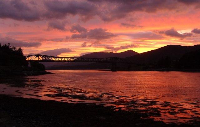 View of Ballachulish Bridge