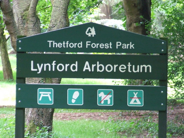 Thetford Forest Park Sign