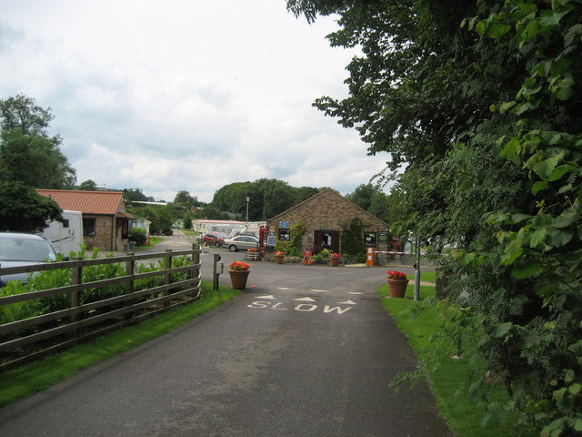 Entrance to River Laver Holiday Park