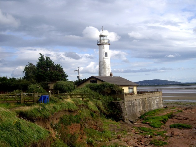 Lighthouse at Hale Head