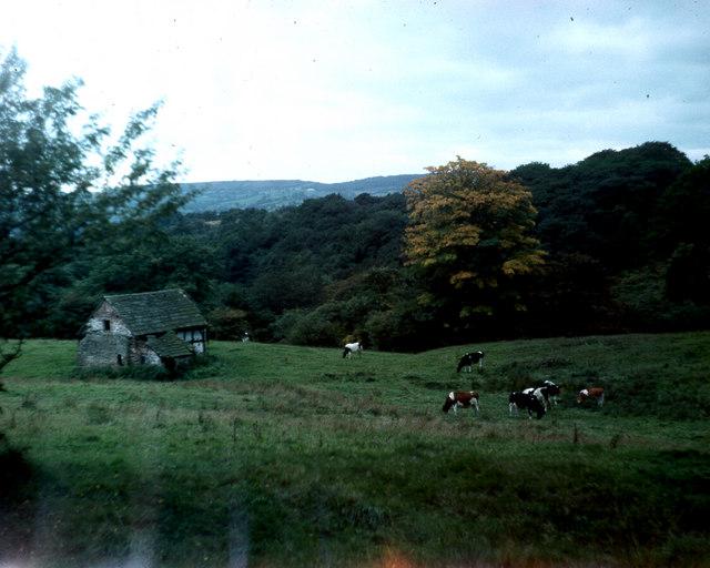 Dumkins Farm taken Autumn 1975