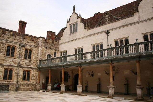 Stone Court Colonnade