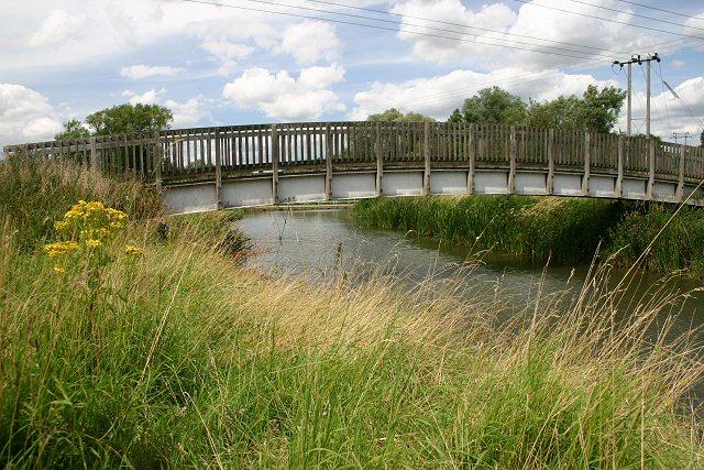 Footbridge over River Stour