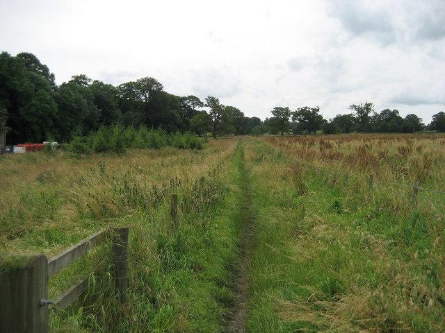Footpath near Studley Roger