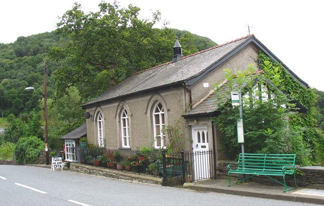 Oriel Twrog Gallery housed in the former Seion Wesleyan chapel