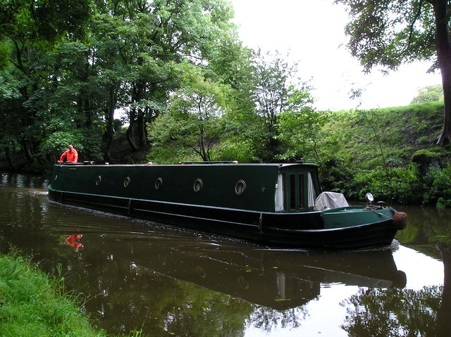 Narrow Boat on Lancaster Canal