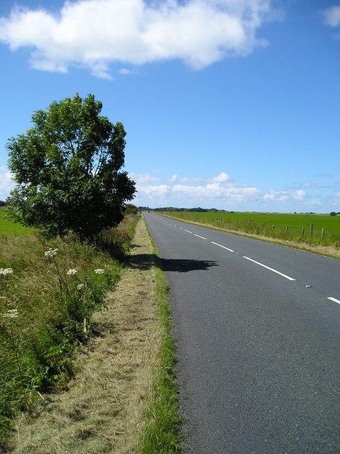 A588 towards Pilling