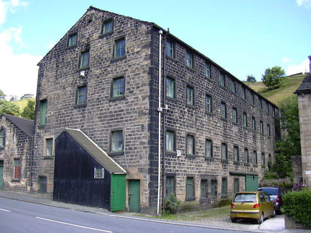 Disused Mill, Bacup Road