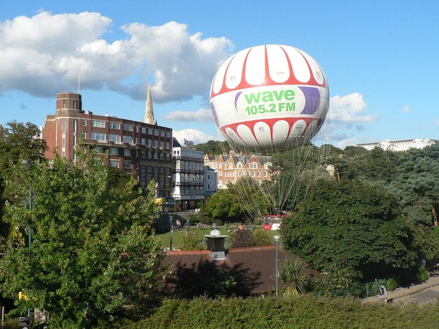 Bournemouth: the balloon comes down