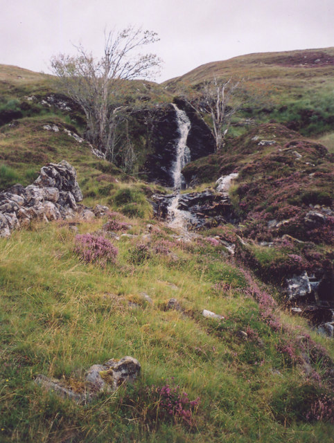 Waterfall of Allt Coire nan Laogh