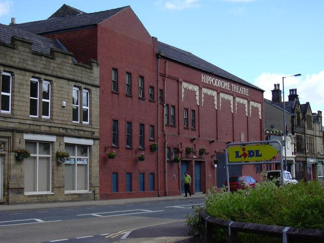 Hippodrome Theatre, Halifax Road.