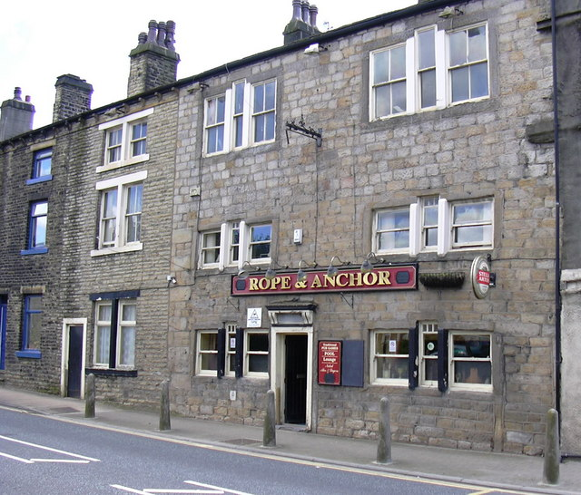 Rope & Anchor, Halifax Road.