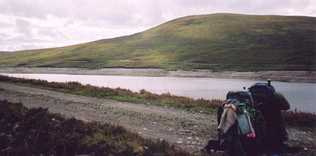View towards Meallan a' Gharuidhe