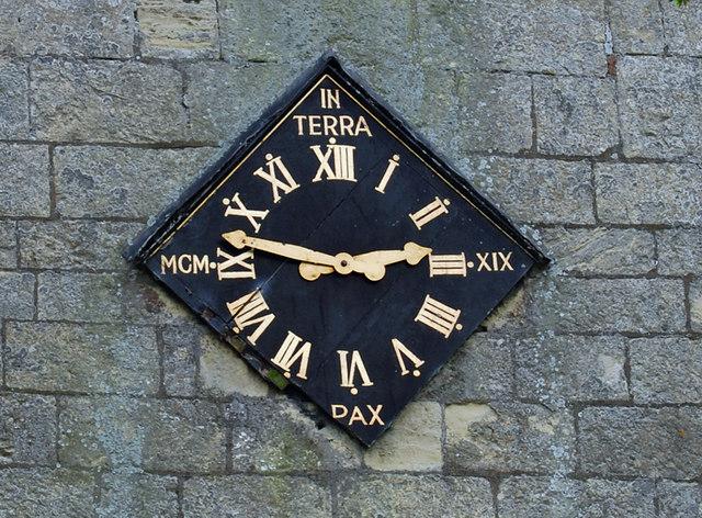 Clock - Whitgift Parish Church
