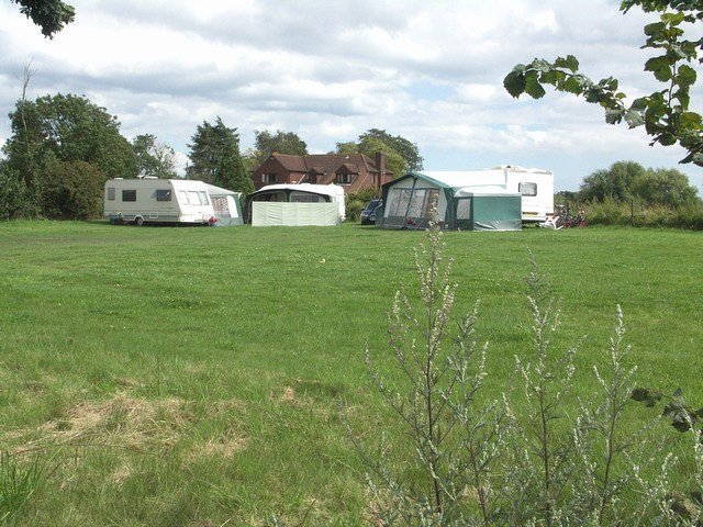 Campsite at Parley Green
