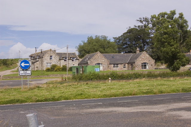 Boghead Farm and steading
