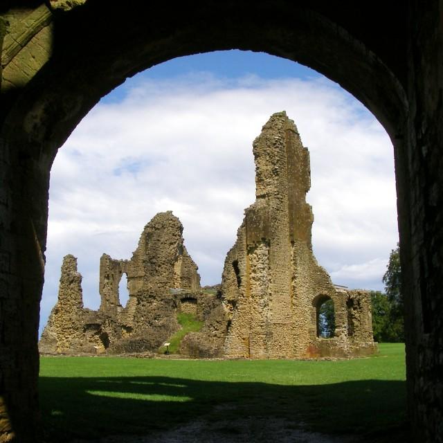 Ruins at Sherborne Old Castle