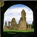 ST6416 : Ruins at Sherborne Old Castle by Jim Champion