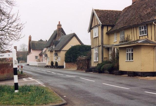 'The Street' Chelsworth