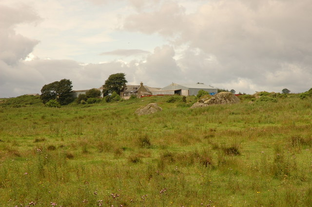Moor looking toward Broomhillock Farm
