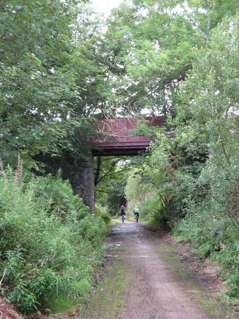 Formartine and Buchan Way - Bridge near Mintlaw Station