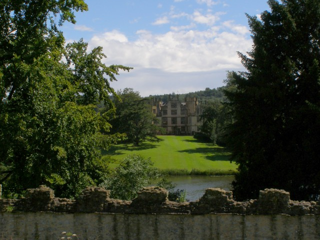 Sherborne Castle from Sherborne Old Castle