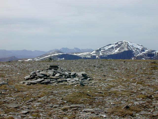 The summit of Am Faochagach