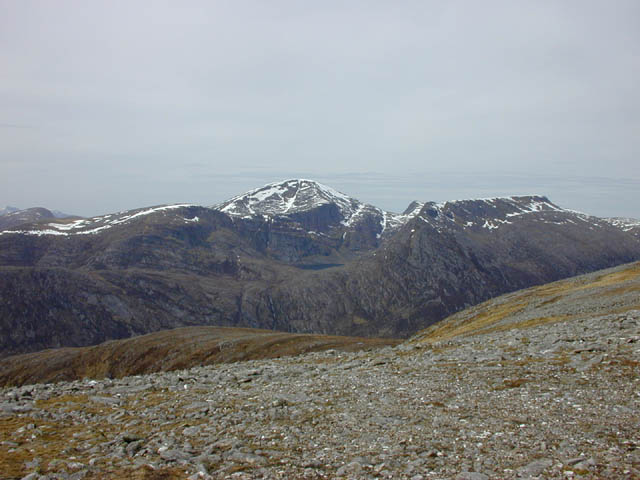 South western slopes of Am Faochagach