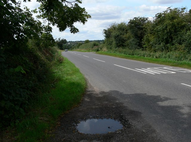 Cosby Road near Countesthorpe